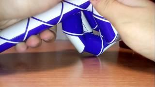 Как сделать шарик из змейки