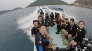 Diving the Perhentian (23-27 June 2016)