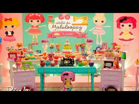 Fiesta de lalaloopsy party 2018 girls fiestas infantiles - Adornos de cumpleanos infantiles ...