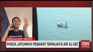 Analisa Capt. Vincent Soal Jatuhnya Pesawat Sriwijaya SJ-182