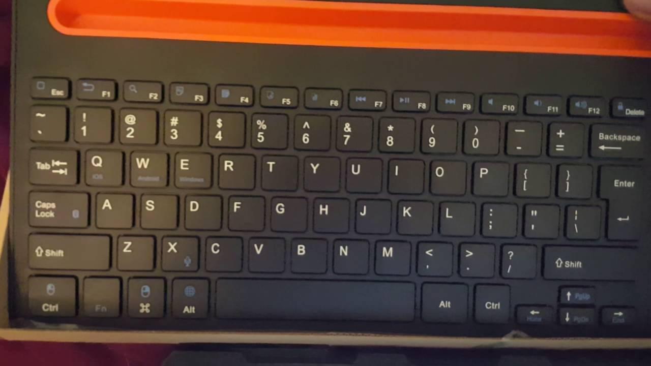Nulaxy KM04 Dual Device Multi-OS Bluetooth Keyboard