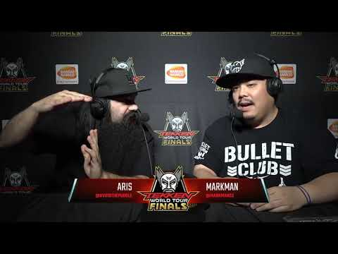 Aris Commentates Tekken 7 - Tekken World Tour Finals 2017, Top 8