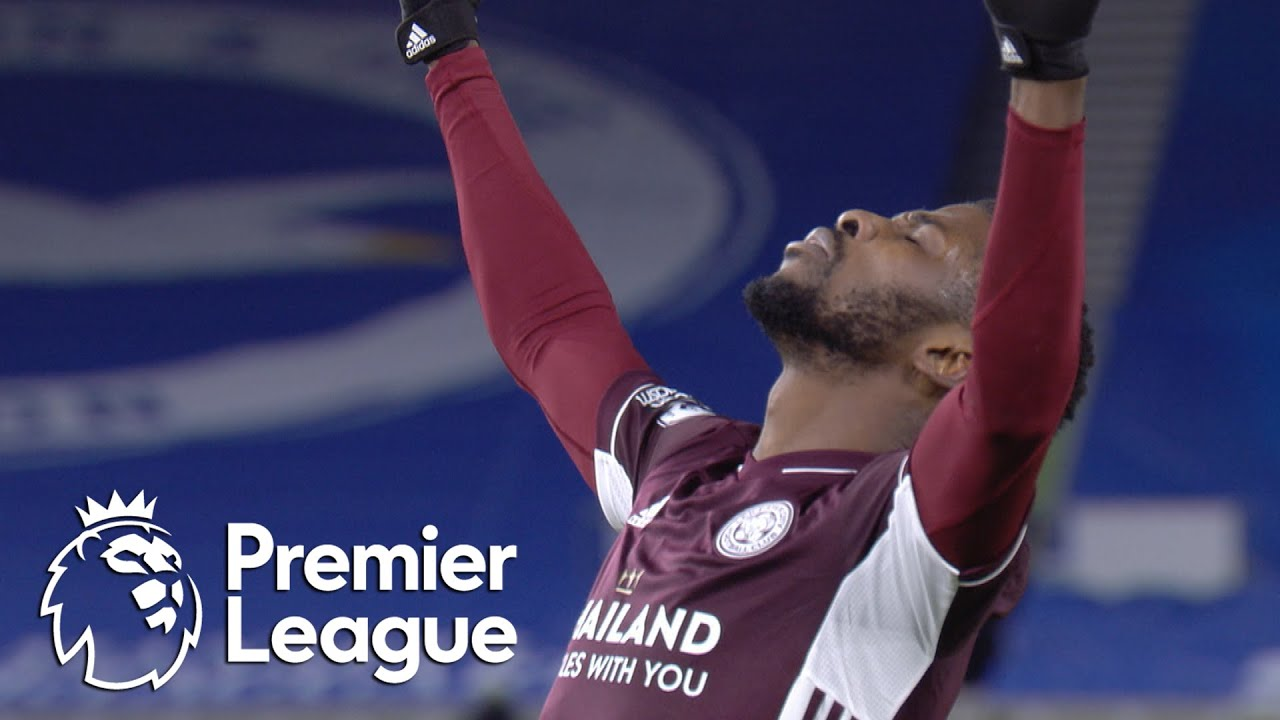 Kelechi Iheanacho pulls Leicester City level with Brighton | Premier League | NBC Sports