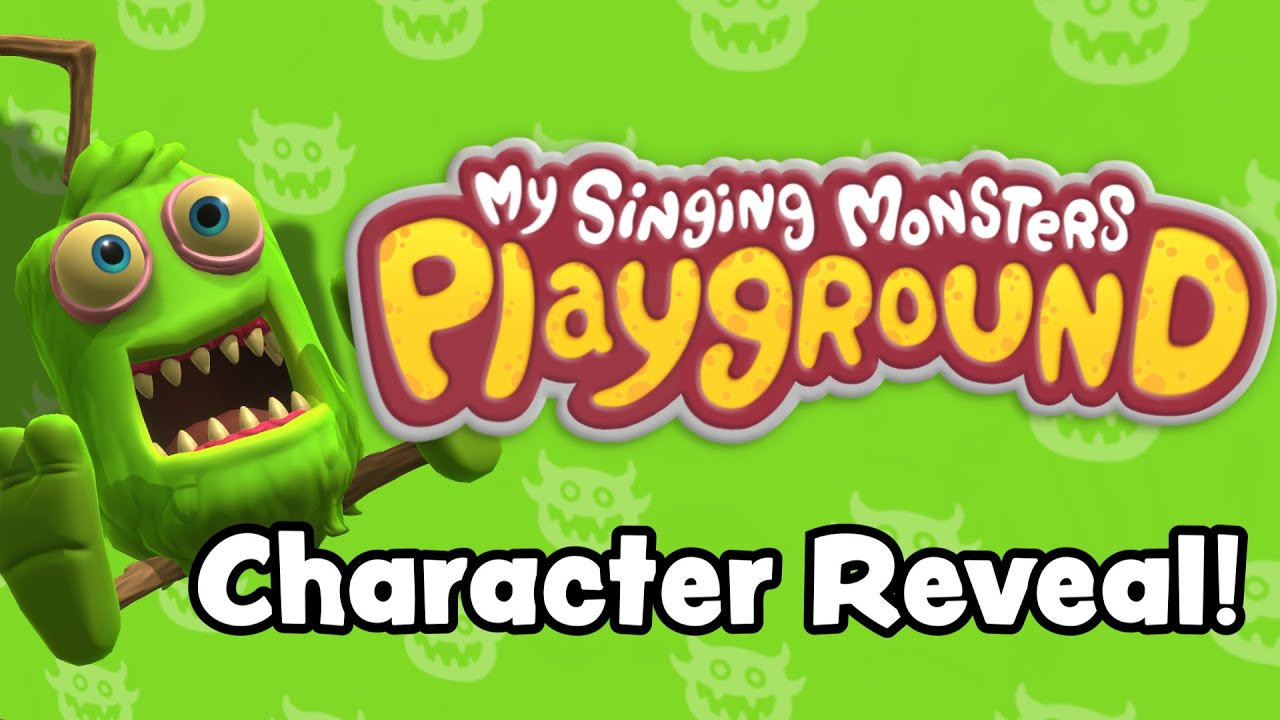 My Singing Monsters Playground - Character Reveal Trailer
