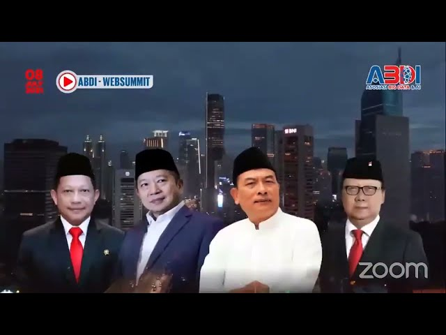 Satu Data Indonesia Web Summit: Digital Government (E-government) Services For Economy Recovery