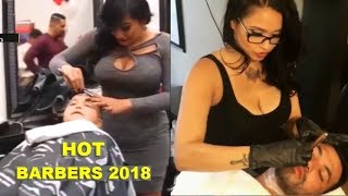 The Most Beautiful Barbers in The World ★ Best Barbers Compilation 2018