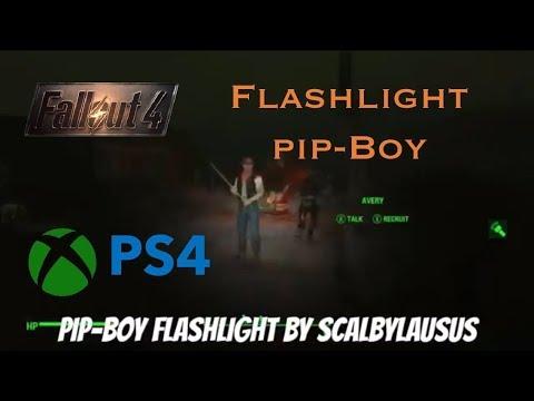 Fallout 4 Xbox One/PS4 Mods Pip-Boy Flashlight