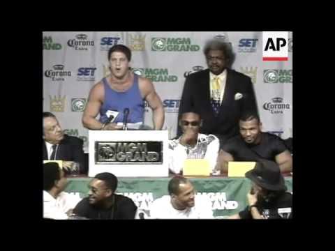 USA: BOXER MIKE TYSON COMEBACK FIGHT PREVIEW