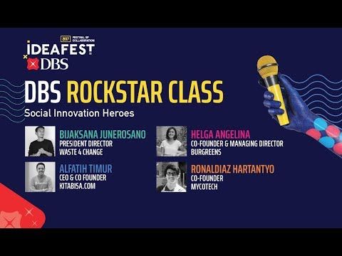 DBS Rockstar Class: Social Innovation Heroes