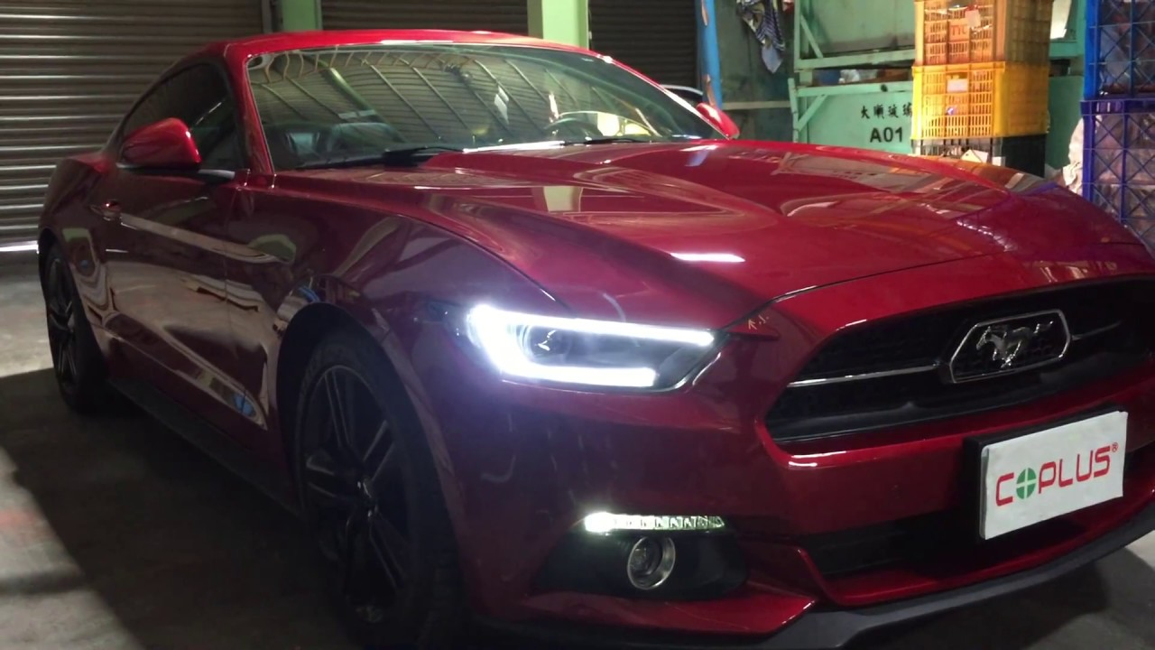 Coplus 2015 Ford Mustang Led Headlight Youtube