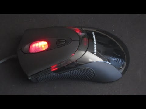 NEW DRIVERS: CORSAIR RAPTOR LM3 GAMING MOUSE