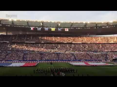 France-Angleterre: l'émouvant hommage aux victimes des attentats