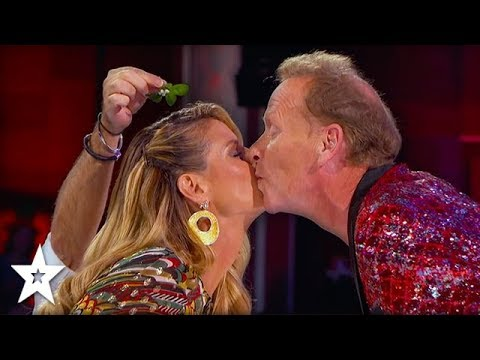The Professional Regurgitator Kisses Heidi Klum On America's Got Talent | Got Talent Global