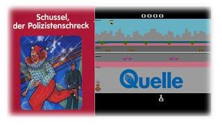 Schussel, der Polizistenschreck (Atari 2600/1983) | #033 | Die große Atari-Quelle-Show