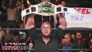 BCW INTERCONTINENTAL TITLE MATCH!! BCW GENESIS!! | WWE 2K19 MyCareer Universe Ep #10