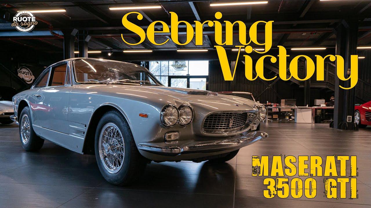 Maserati 3500 GTI Sebring (1963)   4K - YouTube