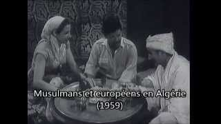 musulmans et europens de bab el oued  alger 1959