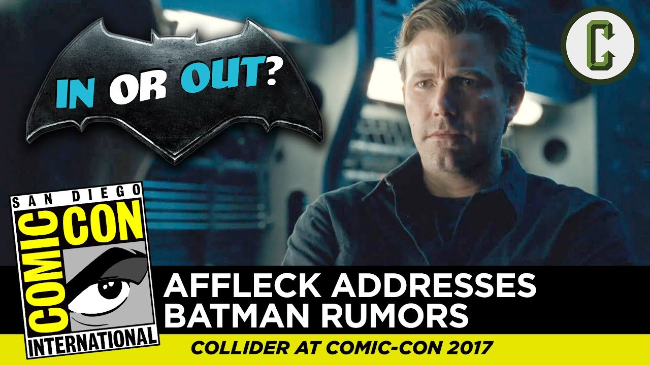 Ben Affleck addresses Batman rumors