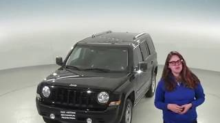 C95710TR - Used, 2017, Jeep Patriot, Sport, 4WD, Black, Test Drive, Review, For Sale -