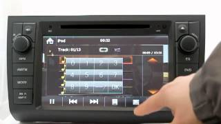 "In Dash Car DVD Player : 8"" Suzuki Swift Car DVD Player GPS Navigation Stereo System"
