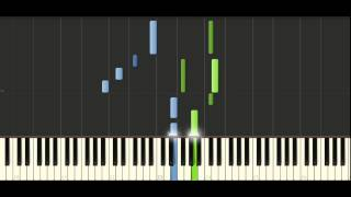 Yanni - In the morning light - Piano Tutorial - Synthesia