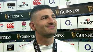 Post match interview: Man of the Match Jonny May on Le Crunch! | Guinness Six Nations