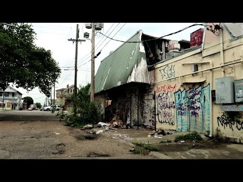 NEW ORLEANS MOST GHETTO STREETS - YouTube