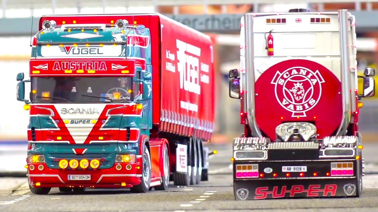 BEST OF SCANIA SUPER RC TRUCKS // RC TRUCK ACTION // RC TRUCK HEAVY HAULAGE // SWISS TRUCKER