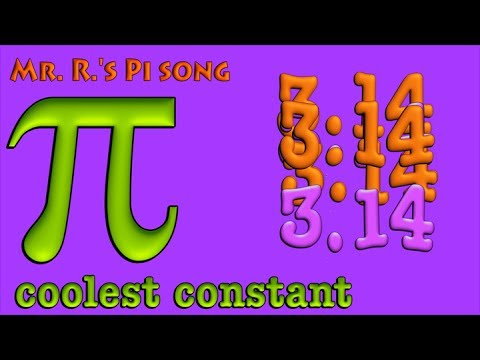 Pi Song (mathematical pi)