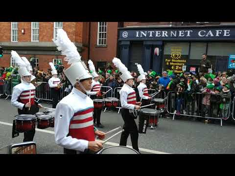 St Patrick's Parade 2019 - Charlotte Catholic High School Band