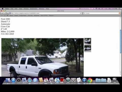 Craigslist Missouri Used Cars For Sale By Owner Youtube