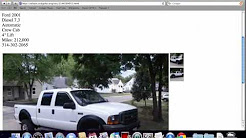 Craigslist Missouri Used Cars for Sale by Owner - YouTube