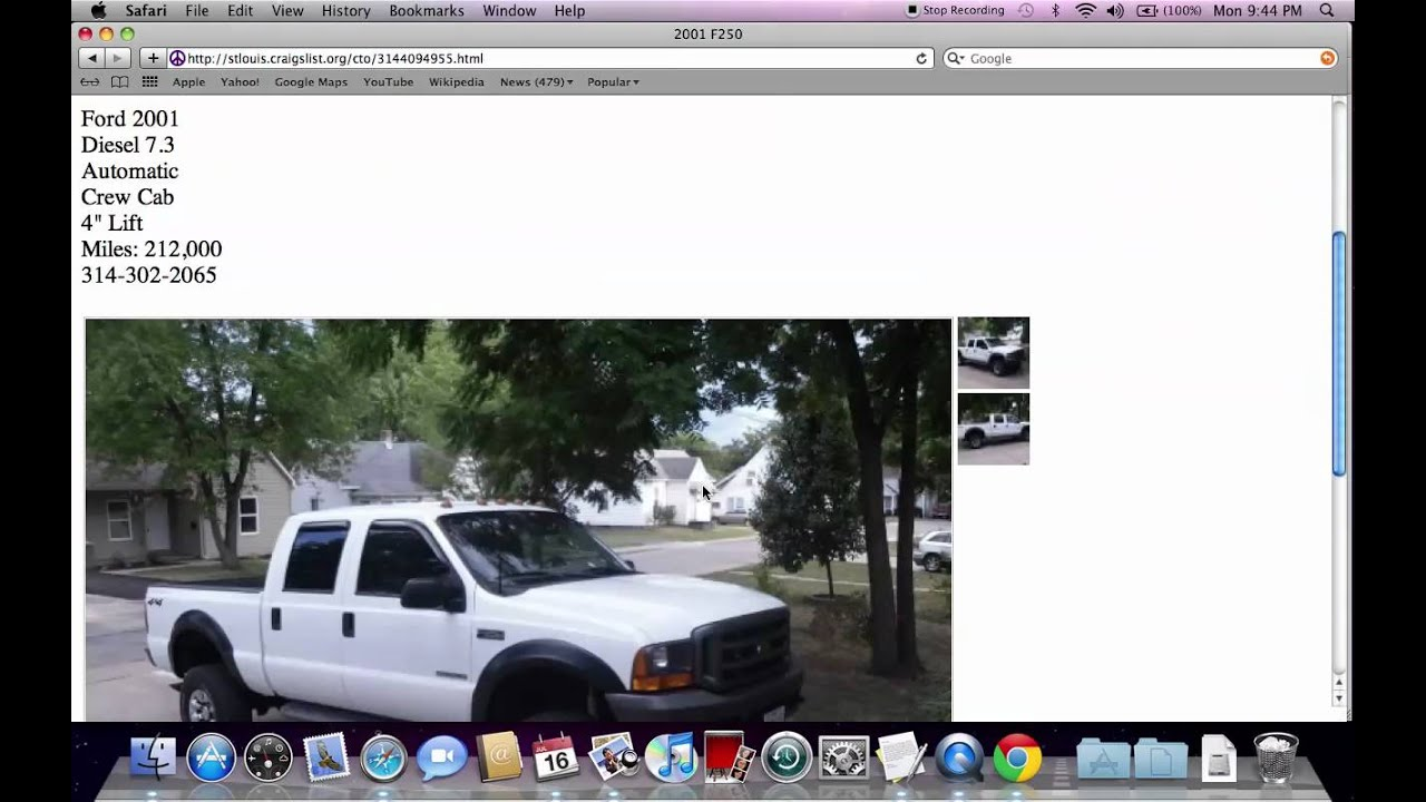 Craigslist St Louis Used Cars  Trucks and Vans   Lowest For Sale by     Craigslist St Louis Used Cars  Trucks and Vans   Lowest For Sale by Owner  Options in 2012   YouTube