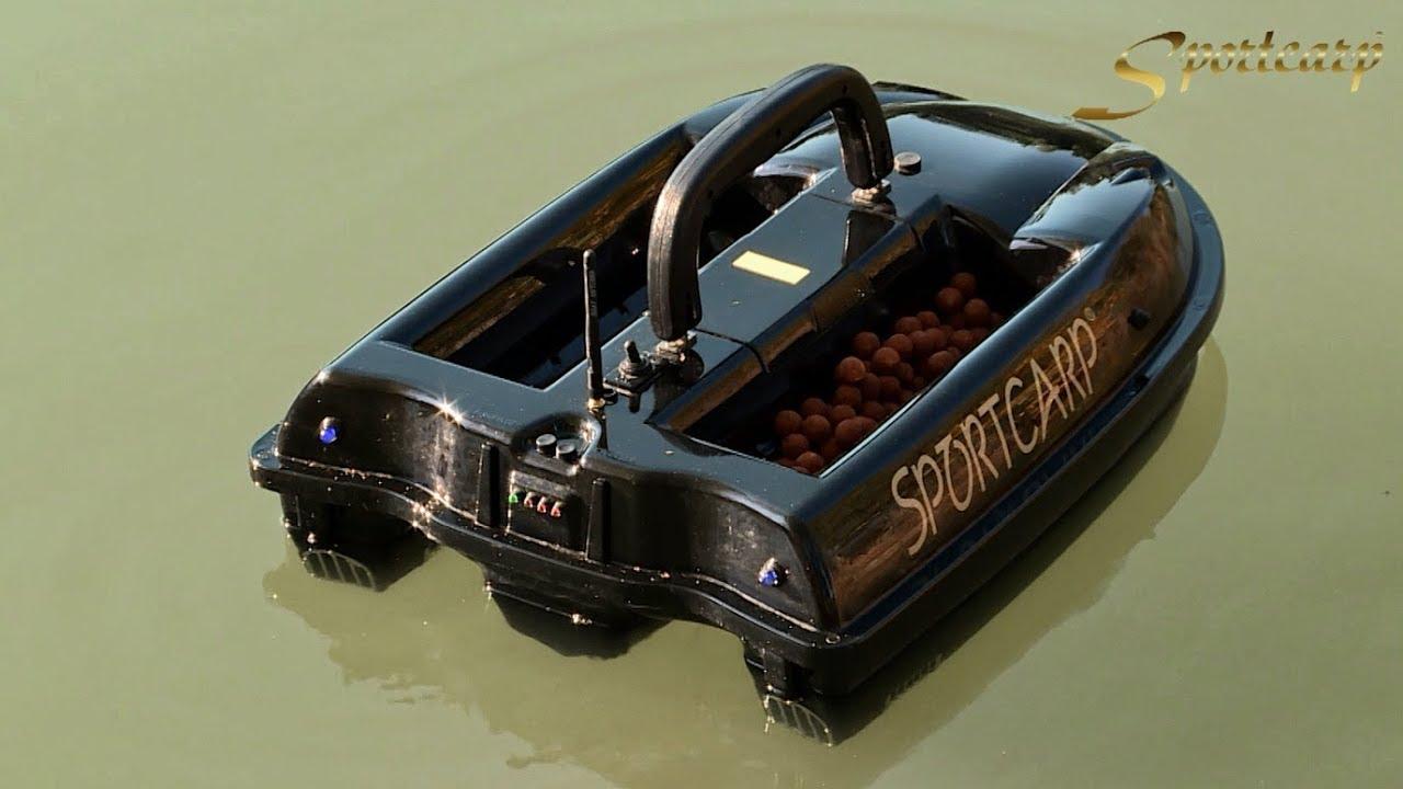 83d91065b411 Sportcarp zavážecí lodička GPS Profi - YouTube