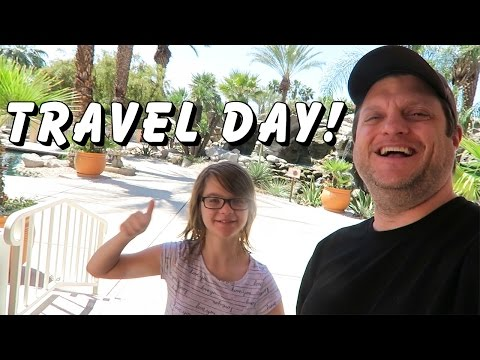 PALM SPRINGS to LOS ANGELES TRAVEL DAY! Day 1428 | ActOutGames