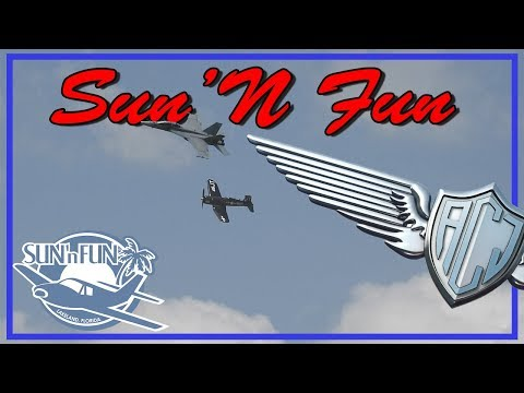 Conhecendo a Sun'N Fun 2018 - Parte 1   Aeroclube de Jundiaí