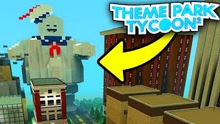 GHOSTBUSTERS PARK in Theme Park Tycoon 2!! - Roblox