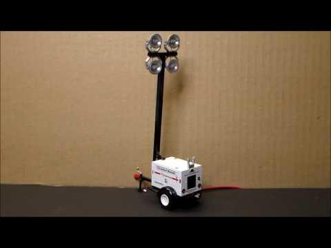 Light tower machine