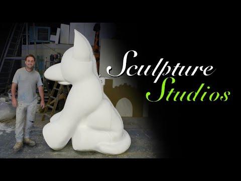 Polystyrene / Styrofoam Dog by Sculpture Studios