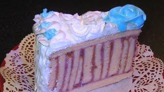 Бисквитный торт. Торт рулет. Крем из киселя.(http://petrkazakov.ru Бисквитный торт с кремом из киселя. Приготовленный в виде рулета, торт в разрезе выглядит очень..., 2015-12-11T14:07:25.000Z)