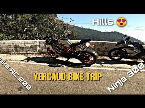 Download Chennai to Yercaud bike trip after Lockdown😍 in Ninja 300   YERCAUD HILLS BIKE TRIP   Ninja 300