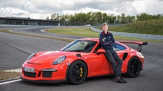 Porsche 911 GT3 RS Full throttle on track with Walter Röhrl