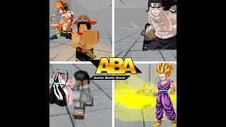 Roblox Anime Battle Arena | Gohan, Neji, Shunsui und Ace Showcase!