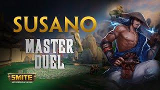 Susano, En duel o en cualquier lao! - Warchi - Smite Master Duel S6