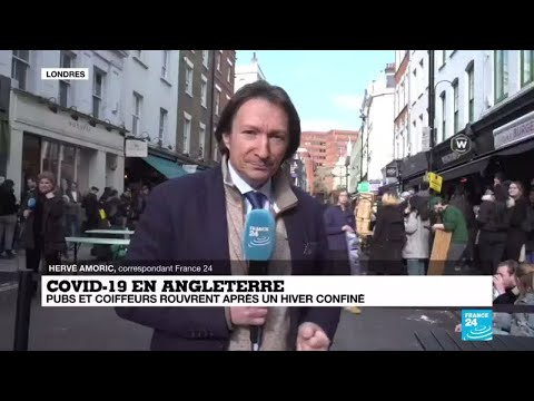 Covid-19 en Angleterre : la fête reprend ses droits ce lundi