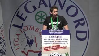 CONGRESSO DELLA #LEGA LOMBARDA - INTERVENTO DI LUCA TOCCALINI SEGRETARIO MGP LOMBARDIA