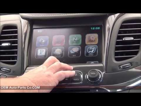 2014-2019 Chevrolet Impala IO6 Factory GPS Navigation Upgrade - Easy Plug & Play Install!