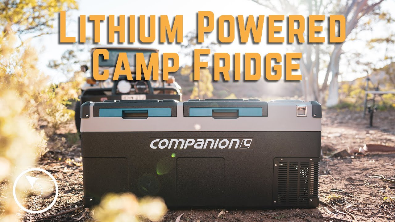 A CAMP FRIDGE THAT RUNS ITSELF? - Companion 75L Dual Zone Lithium Fridge  - First Impressions Video