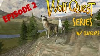 WolfQuest Series! | Episode 2! | Finding The Den of Imaaaaagination |