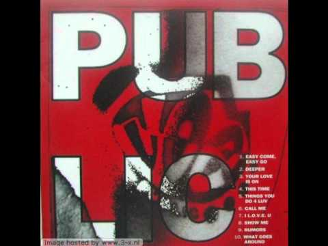 Joe Public - What Goes Around